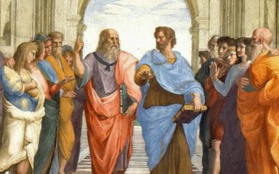 La Scuola di Atene e i Ricami di Leonardo Da Vinci