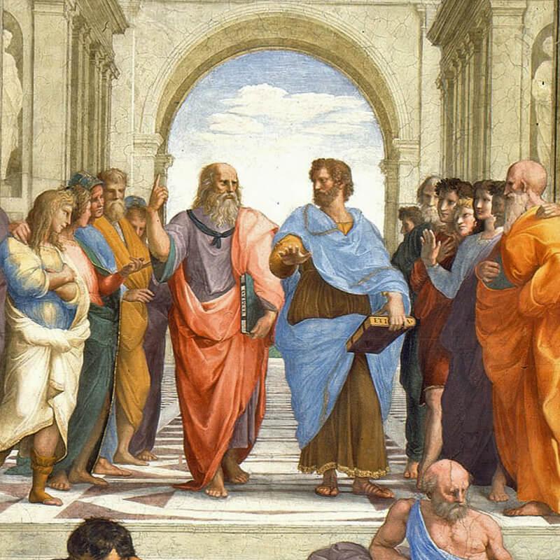 I Ricami di Leonardo Da Vinci nella Scuola di Atene | RomaGuideTour.it