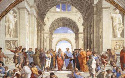 La Scuola di Atene: Raffaello Sanzio conservatore e archeologo