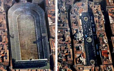 Il fallimento dello Stadio di Domiziano e la nascita di Piazza Navona