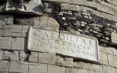 Appia Antica: il Mausoleo di Cecilia Metella