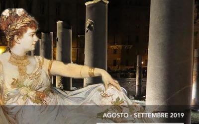 Tour Teatralizzati Serali per l'Estate Romana 2019