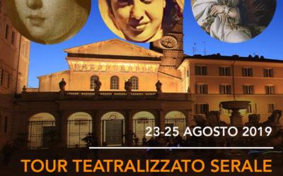 Tour Teatralizzato Serale: Eroine, Spie e Passionarie del Tevere