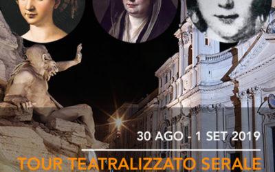 Tour Teatralizzato Serale: Donne della Roma Moderna tra Bellezza e Potere
