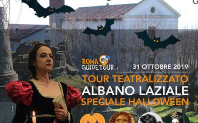 Nuovo Tour Teatralizzato di Albano Laziale per Halloween 2019