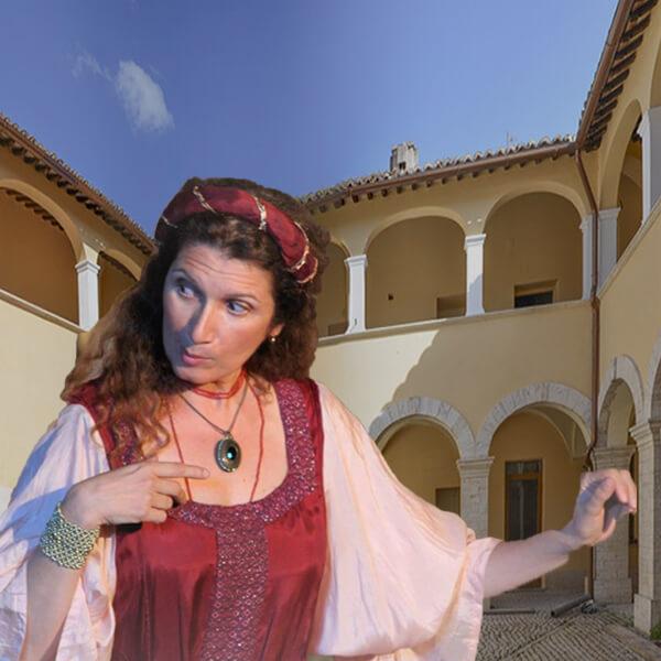Tour Teatralizzato di San Valentino: Castello Orsini a Castel Madama