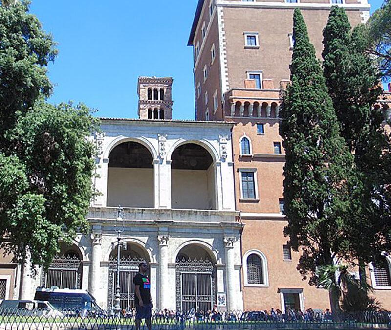 Percorsi intorno a Piazza Venezia: San Marco Evangelista in Campidoglio
