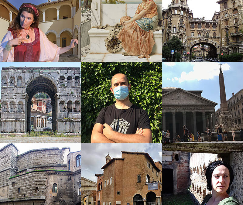 Nuova Serie di Tour Teatralizzati all'aperto per l'Estate Romana 2020