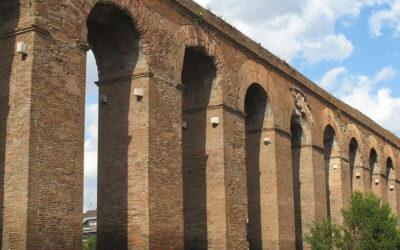 L'Acquedotto Alessandrino a Parco Sangalli, TorPignattara