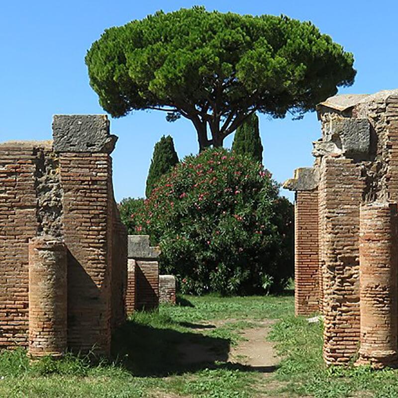 RomaGuideTour - Visite guidate a Roma | Parco Archeologico di Ostia Antica: case a giardino