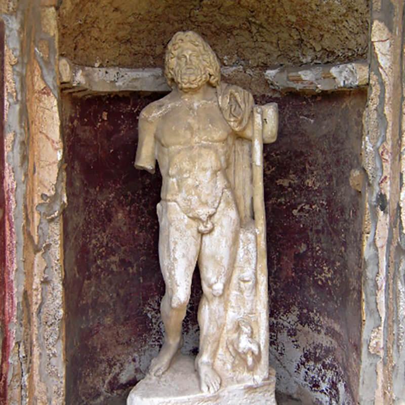 RomaGuideTour - Visite guidate a Roma | Parco Archeologico di Ostia Antica: Domus Giove e Ganimade