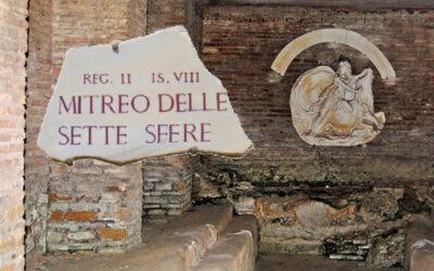 I Mitrei di Ostia Antica: il Mitreo delle Sette Sfere
