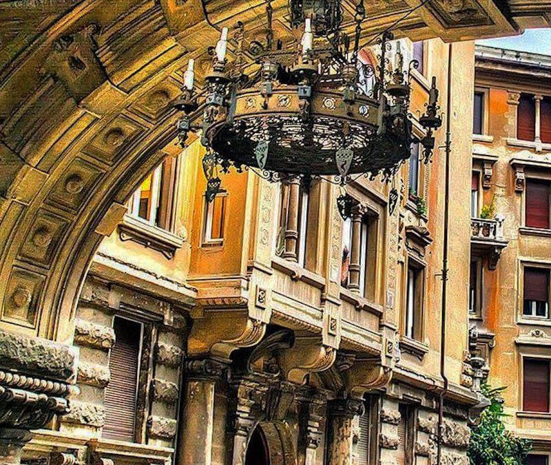 Quartiere Coppedè, Architettura Esoterica del 900 a Roma