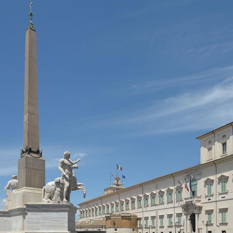 RomaGuideTour - Visite guidate a Roma   Rione Trevi: Palazzo Quirinale