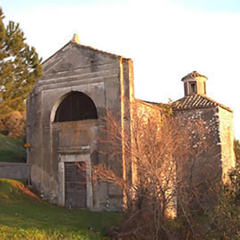 RomaGuideTour - Visite guidate a Roma | Itinerari fuori Roma: Guidonia Montecelio | Chiesa di San Antonio Abbate