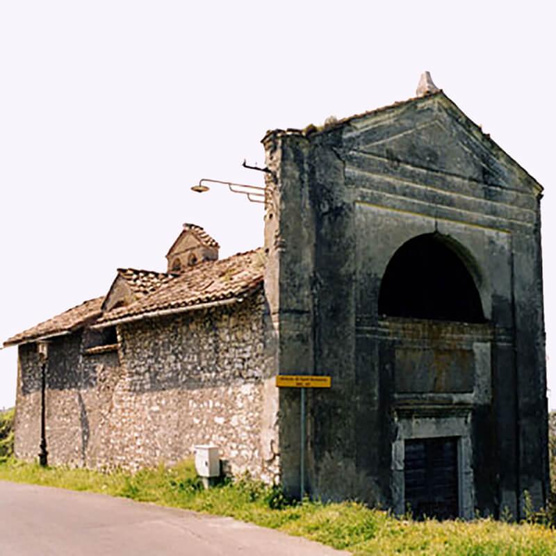 RomaGuideTour - Visite guidate a Roma | Itinerari fuori Roma: Guidonia Montecelio | Chiesa di San Antonio Abate